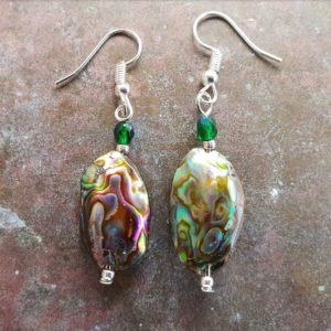 2 X Paua earrings